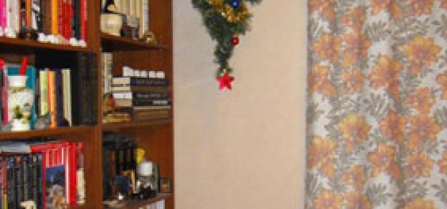 Как укрепить и куда поставить новогоднюю ель. На пол или на потолок?