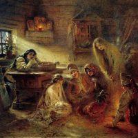 Святочные гадания: гадания с зеркалами, на бобах и многие другие