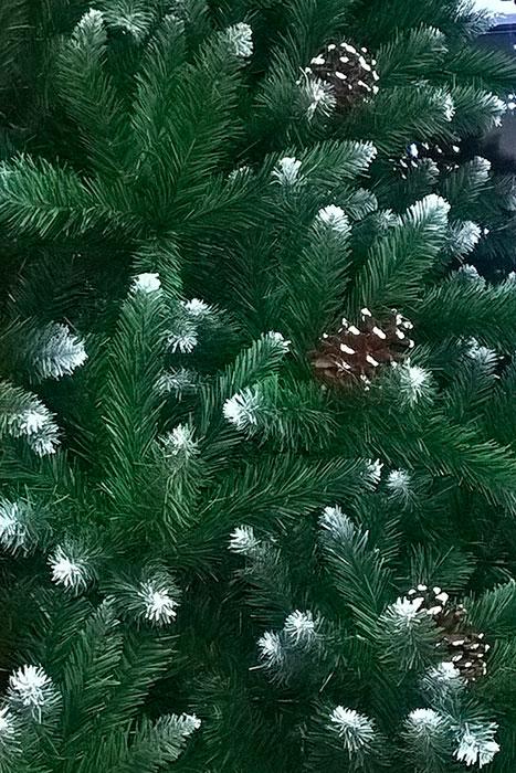 искусственная новогодняя ёлка, густая крона
