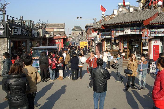 Китайский Новый год, праздник весны, Пекин, хутуны