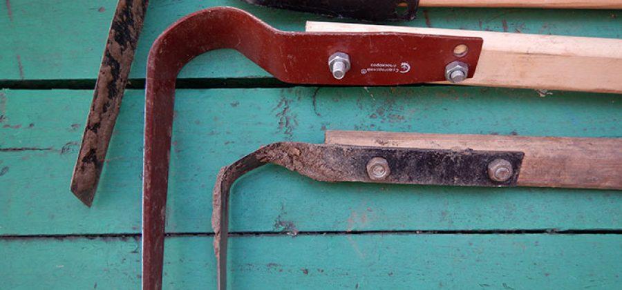 Как я использую плоскорез Фокина, или ручное почвообрабатывающее орудие