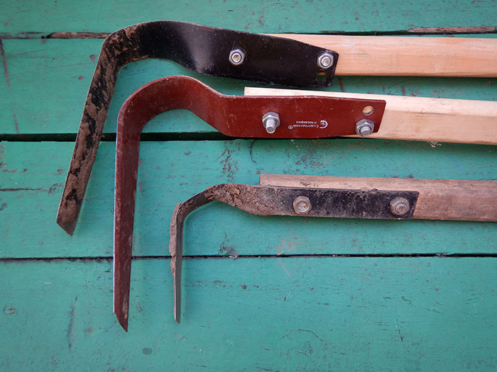 плоскорез Фокина, ручное почвообрабатывающее орудие