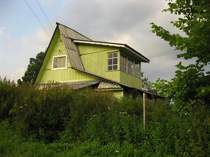 окна в дачном домике, деревянные рамы