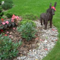 Забавные садовые композиции с растениями и игрушками и никому не нужными предметами