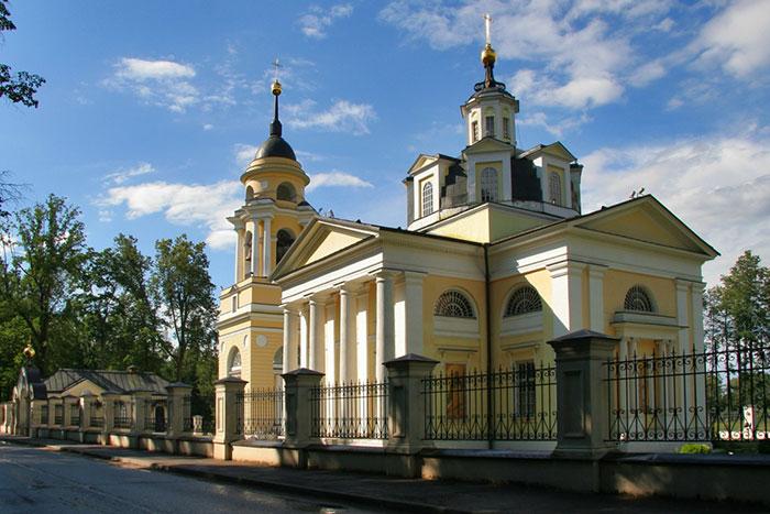 Храм Николая Чудотворца в Николо-Прозорово