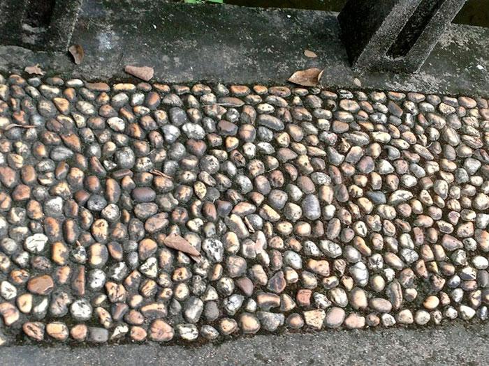 садовая дорожка из гальки, укладка садовой дорожки своими руками, стиль участка