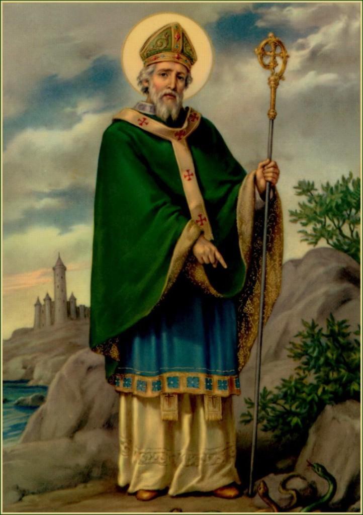 Святой Патрик, небесный покровитель Ирландии, святитель Патрик, святитель Патрикий